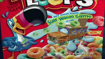 Fruit Loops TV Spot, 'Surf Wagon Game' - Thumbnail 10