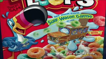 Fruit Loops TV Spot, 'Surf Wagon Game' - Thumbnail 10