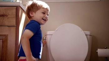 Huggies Pull-Ups TV Spot, 'First Flush' - Thumbnail 2