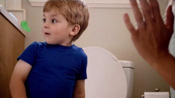 Huggies Pull-Ups TV Spot, 'First Flush' - Thumbnail 3