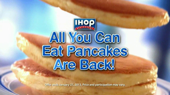 IHOP TV Spot, \'All You Can Eat Pancakes\'