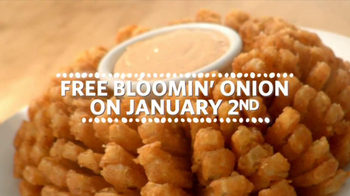 Outback Steakhouse TV Spot, 'Free Bloomin' Onion' - Thumbnail 4
