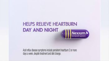 Nexium TV Spot, 'Day and Night Relief'