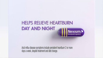 Nexium TV Spot, \'Day and Night Relief\'
