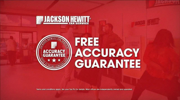 Jackson Hewitt TV Spot, 'Free Accuracy Guarantee' Song by Montell Jordan - Thumbnail 6