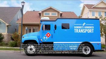 Domino's Medium Two-Topping Pizza TV Spot, '5 Dominos Dollars'