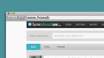 How About We TV Spot, 'New Way to Date' - Thumbnail 1