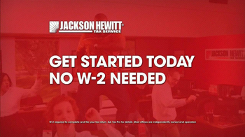 Jackson Hewitt TV Spot, 'No W2 Needed' Song by Montell Jordan - Thumbnail 5
