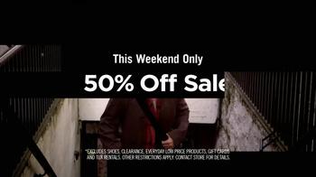 Men's Wearhouse TV Spot 'Half Off' - Thumbnail 3