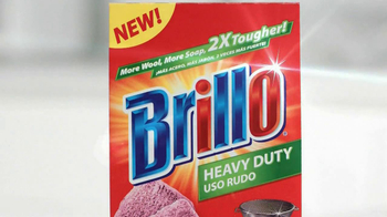 Brillo Estracell SpongesTV Spot, 'Brillo It Off' - Thumbnail 9