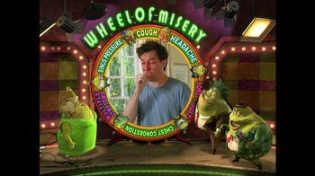 Mucinex TV Spot, 'Wheel of Misery'