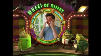 Mucinex TV Spot, 'Wheel of Misery' - Thumbnail 1