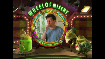 Mucinex TV Spot, 'Wheel of Misery'