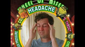 Mucinex TV Spot, 'Wheel of Misery' - Thumbnail 4