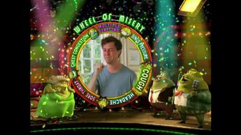 Mucinex TV Spot, 'Wheel of Misery' - Thumbnail 6