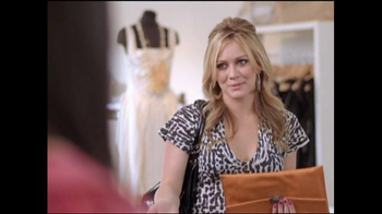 Think B4 You Speak TV Spot, 'Do You Like This Top?' Featuring Hillary Duff - Thumbnail 4
