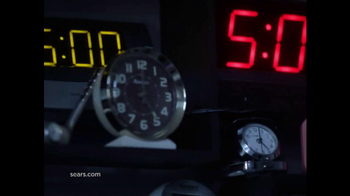 Sears Big Weekend Event TV Spot, 'Whatever It Takes: Alarm Clocks'  - Thumbnail 1