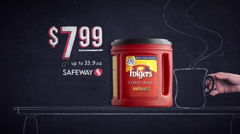 Safeway Deals of the Week TV Spot, 'Arrow Head, Folgers, Simply Orange' - Thumbnail 6