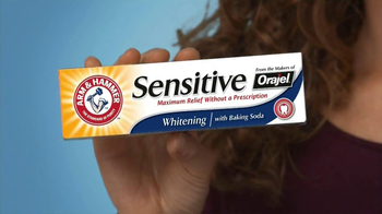 Arm and Hammer Orajel Sensitive TV Spot, 'Brushing Secret' - Thumbnail 6