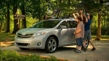 2013 AWD Toyota Venza TV Spot, 'Scenic Trail' - Thumbnail 7