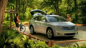 2013 AWD Toyota Venza TV Spot, 'Scenic Trail' - Thumbnail 8