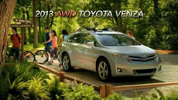 2013 AWD Toyota Venza TV Spot, 'Scenic Trail' - Thumbnail 9