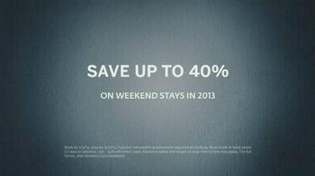 Hilton HHonors TV Spot, 'Weekend Stays' - Thumbnail 5