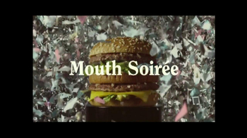 McDonald's Big Mac TV Spot, 'Mouth Soiree' - 135 commercial airings