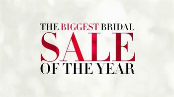 David's Bridal Biggest Bridal Sale of the Year TV Spot, 'Jan. 21' - Thumbnail 1