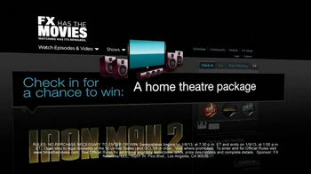 FX Network TV Spot, 'Home Theatre Package'