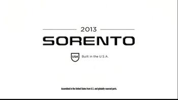 2013 Kia Sorento TV Spot, 'Unexpected' - Thumbnail 9