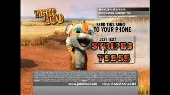 Jamster TV Spot 'Tiger Boo'