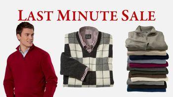 JoS. A. Bank Last-Minute Sale TV Spot, 'Sweaters'