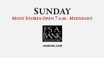 JoS. A. Bank Last-Minute Sale TV Spot, 'Sweaters' - Thumbnail 8
