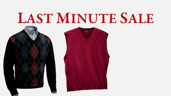 JoS. A. Bank Last-Minute Sale TV Spot, 'Sweaters' - Thumbnail 2