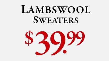 JoS. A. Bank Last-Minute Sale TV Spot, 'Sweaters' - Thumbnail 6
