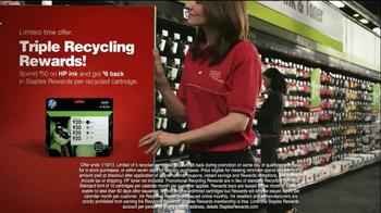 Staples Rewards TV Spot, 'Triple Recycling Rewards' - Thumbnail 5