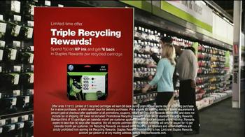 Staples Rewards TV Spot, 'Triple Recycling Rewards' - Thumbnail 8