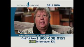 Security 1 Lending TV Spot Featuring Pat Boone - Thumbnail 5