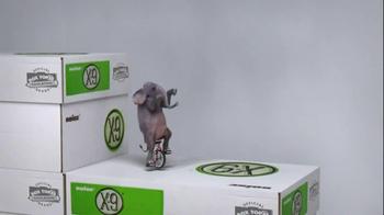 Office Max TV Spot, 'Unicycling Elephant' - Thumbnail 3