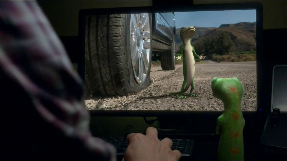 Allstate Bonus Check >> GEICO Emergency Roadside Assistance TV Commercial, 'Another Take' - iSpot.tv