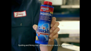 Finish Power Up TV Spot  - 2357 commercial airings