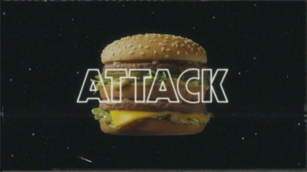 McDonald's Big Mac TV Commercial, 'Big Mac Attack'