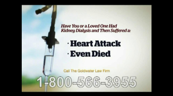 Goldwater Law Firm TV Spot, 'Kidney Dialysis Solutions' - Thumbnail 9