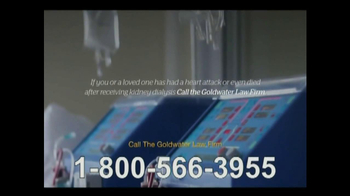 Goldwater Law Firm TV Spot, 'Kidney Dialysis Solutions' - Thumbnail 3