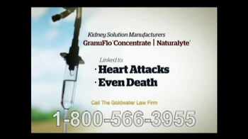 Goldwater Law Firm TV Spot, 'Kidney Dialysis Solutions' - Thumbnail 6
