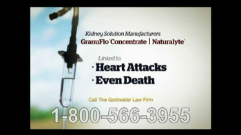Goldwater Law Firm TV Spot, 'Kidney Dialysis Solutions' - Thumbnail 7