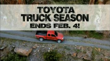 Toyota Truck Season TV Spot  - Thumbnail 10