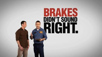 Meineke Car Care Centers TV Spot, 'Free Brake Inspection'