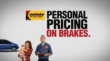 Meineke Car Care Centers TV Spot, 'Personal Pricing' - 163 commercial airings
